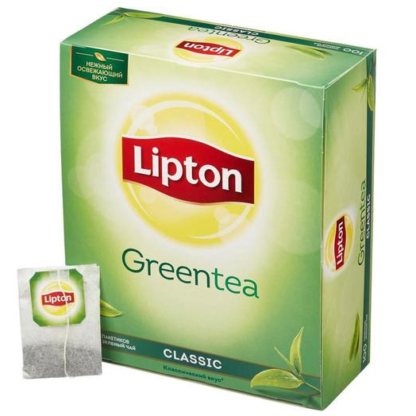 Lipton Green Classic Tea 100 пак.
