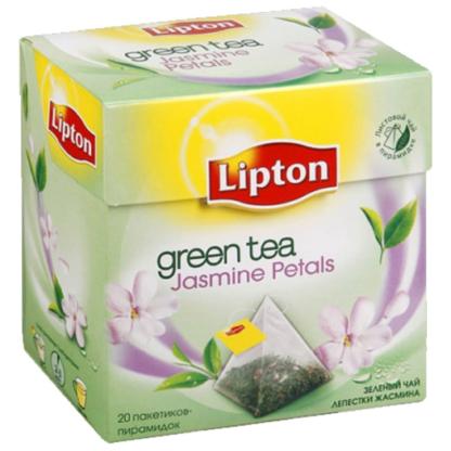 Lipton Jasmine petals Green tea 20 пак.