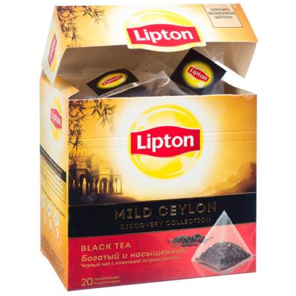 Lipton Mild Ceylon 20 пак.