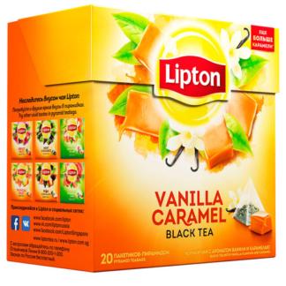 Lipton Vanilla Caramel 20 пак.