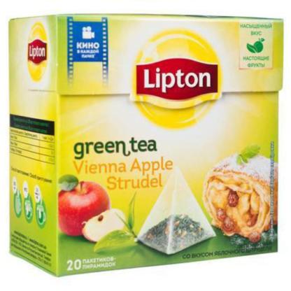 Lipton Vienna Apple Strudel 20 пак.