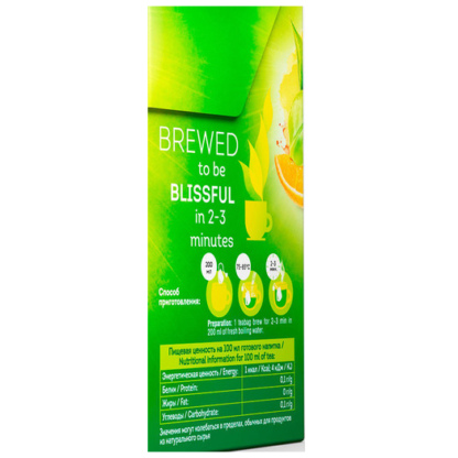 Lipton green tea Mandarin Orange 20 пак.