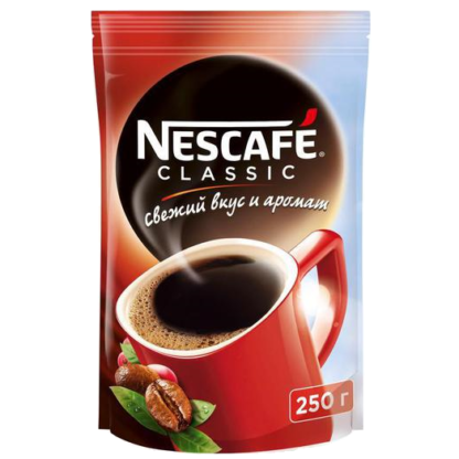 Nescafe Classic 250г пакет