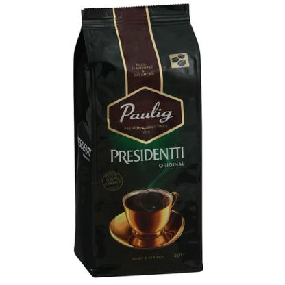 Paulig Presidentti Original 250г в зернах