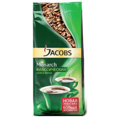 Jacobs Monarch 250г в зернах
