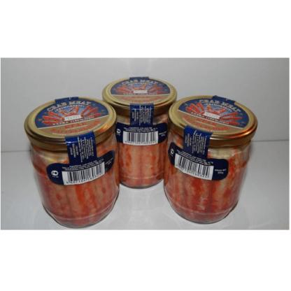 Мясо краба 500г